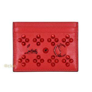 Christian Louboutin Kios Loubinthesky Leather Card